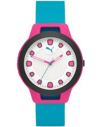 PUMA - Reset Silicone Strap Watch 36mm - Lyst