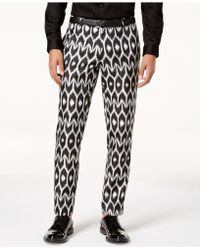 INC International Concepts - Slim-fit Ikat Trousers, Created For Macy's - Lyst