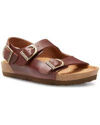 Eastland Charlestown Double Strap Sandals - Brown