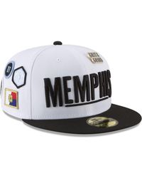 the best attitude 139d0 f2484 KTZ - Memphis Grizzlies City On-court 59fifty Fitted Cap - Lyst