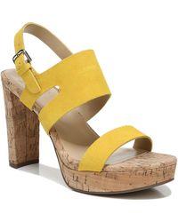 Naturalizer Marla Platform Sandals - Multicolour