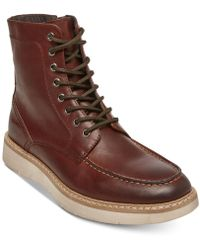 Steve Madden - Joeey Leather Boots - Lyst