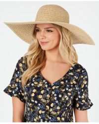 Nine West Packable Super Floppy Hat - Blue