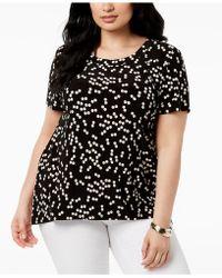 Anne Klein - Plus Size High-low T-shirt - Lyst