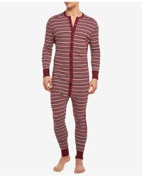2xist - Cotton Jumpsuit Pajamas - Lyst