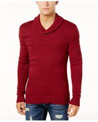 American Rag - Men's Shawl-collar Sweater - Lyst