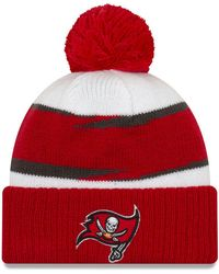 KTZ - Tampa Bay Buccaneers Thanksgiving Pom Knit Hat - Lyst 91f2e3cf8