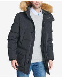 Tommy Hilfiger Hooded Snorkel Coat - Black