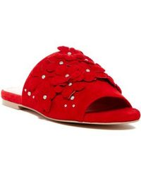 Charles David Collection Sicilian Sandals - Red
