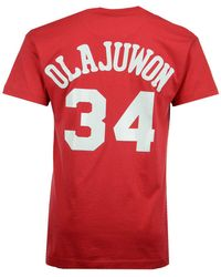 dd220f8a9 Mitchell   Ness - Men s Hardwood Classic Player T-shirt - Lyst