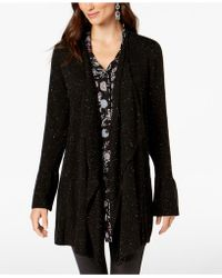 Style & Co. - Petite Ruffle-sleeve Cardigan, Created For Macy's - Lyst