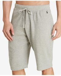 Polo Ralph Lauren   Men's Waffle-knit Pajama Shorts   Lyst