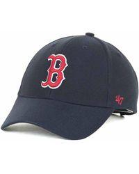 47 Brand - Boston Red Sox Mlb On Field Replica Mvp Cap - Lyst 2b5c1d270c78