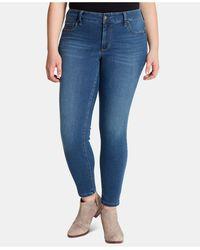 Jessica Simpson Trendy Plus Size Kiss Me Super-skinny Jeans - Blue