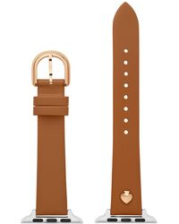 Kate Spade Leather Apple Watch Strap - Brown