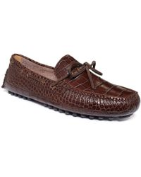 Cole Haan Grant Canoe Camp Moc Shoes - Brown