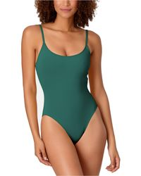 Anne Cole Studio Vintage-inspired One-piece Swimsuit - Green