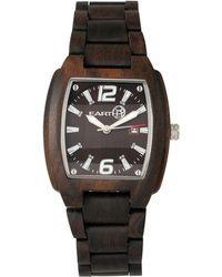 Earth Wood - Sagano Wood Bracelet Watch W/date Brown 42mm - Lyst