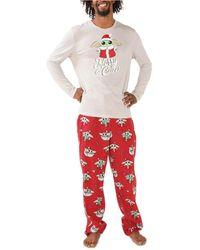 Munki Munki Gorgu Holiday Family Pajama Set - Red