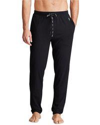 Polo Ralph Lauren Lux Cotton Slim Fit Pyjama Pant - Black