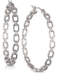 Ivanka Trump - Open Geometric Hoop Earrings - Lyst