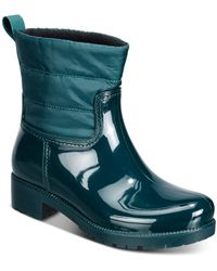 Charter Club Trudyy Rain Boots, Created For Macy's - Green