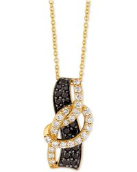 "Le Vian - Exotics® Diamond Loop 18"" Pendant Necklace (1 Ct. T.w.) In 14k Gold - Lyst"