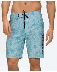 169372d653 Onia Charles 5 Cote D'azure Palms Swim Shorts (aegean Sea Multi) Swimwear in  Blue for Men - Save 25% - Lyst