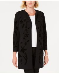 Alfani - Velvet Flocked Jacket, Created For Macy's - Lyst
