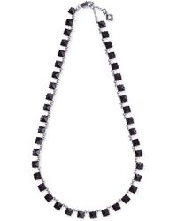 Vera Bradley - Gold-tone Blue Stone Necklace - Lyst