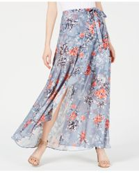 French Connection - Floral-print Maxi Skirt - Lyst