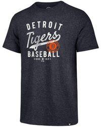 47 Brand - New York Yankees Coop Triblend Match T-shirt - Lyst