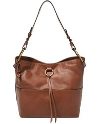 Fossil Ada Leather Bucket Bag - Brown