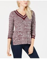 Maison Jules - V-neck Sweater, Created For Macy's - Lyst