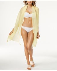 INC International Concepts - I.n.c. Tassel Pleated Wrap & Sarong Cover-up, Created For Macy's - Lyst