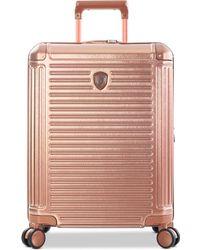 "Heys Edge 21"" Hardside Carry-on Spinner Suitcase - Pink"