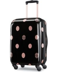"American Tourister - Minnie Mouse Dots 21"" Carry-on Spinner Suitcase - Lyst"