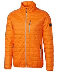 Cutter & Buck Big & Tall Rainier Jacket - Orange