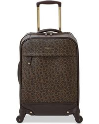 """CALVIN KLEIN 205W39NYC - Mulberry 20"""" Softside Spinner Suitcase - Lyst"""