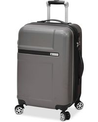 "London Fog - Southbury 21"" Hardside Expandable Spinner Carry-on Suitcase - Lyst"