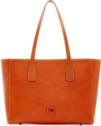 Dooney & Bourke - Florentine Vachetta Leather Ashton Tote - Lyst