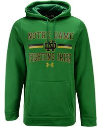 Under Armour - Notre Dame Fighting Irish Speedy Armour Fleece Hoodie - Lyst a62f22dc4