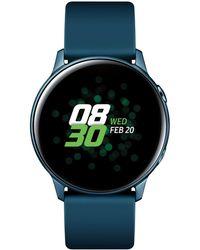 Samsung Galaxy Active Seagreen Watch, 40mm - Multicolor