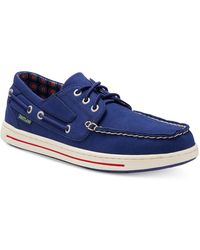Eastland Adventure Mlb Chicago Cubs Boat Shoes - Blue