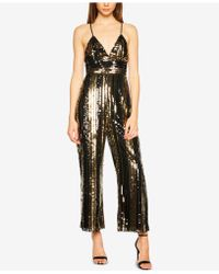 Bardot - Sequined Jumpsuit - Lyst