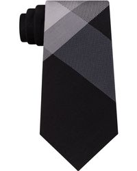 Kenneth Cole Reaction - Men's Textured Colorblocked Silk Tie - Lyst