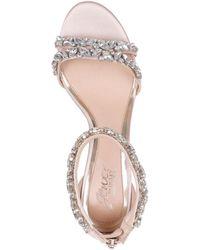 Badgley Mischka Caroline Ankle-strap Evening Sandals - Multicolour