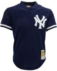 563be118cb1 Mitchell   Ness - Men s Authentic Mesh Batting Practice V-neck Jersey - Lyst