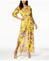 French Connection - Linosa Crinkle Maxi Dress - Lyst