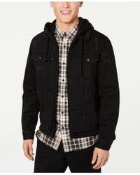 American Rag - Mens Hooded Denim Trucker Jacket, Created For Macy's - Lyst